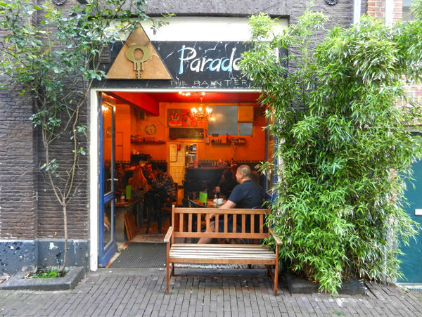 One of the best space cakes in Amsterdam is offered by the Paradox Coffeeshop, located in one of the city's historic buildings in the quiet Jordaan district.